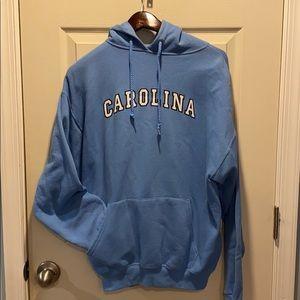 North Carolina Tar Heels Baby Blue Hoodie Large